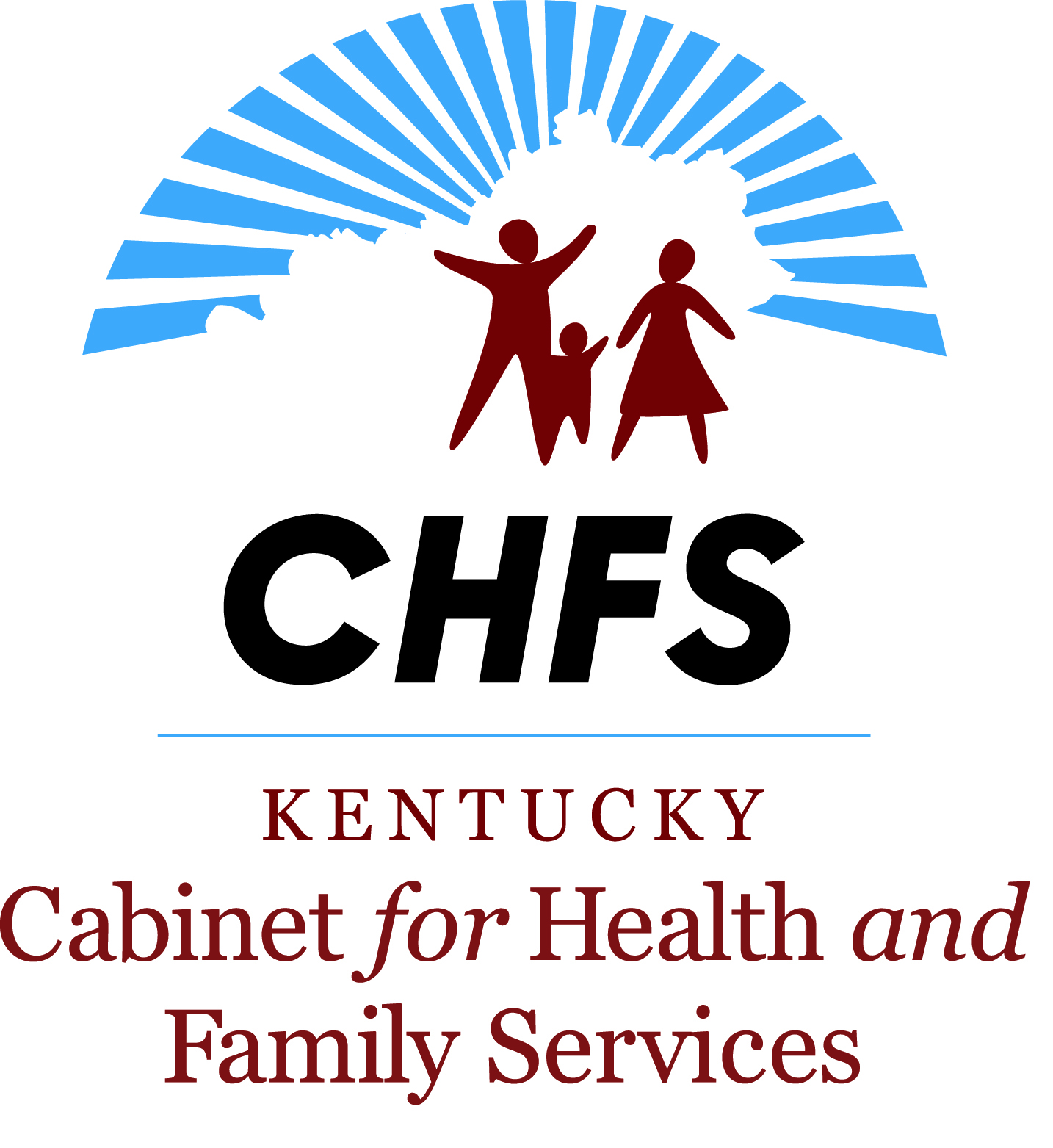 Cabinet for Health and Family Services (CHFS) Logo link